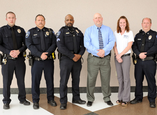 BC3 Campus Police and Security staff.