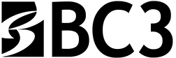 bc3 logo black and white
