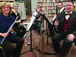 Members of Aeolian Winds of Pittsburgh