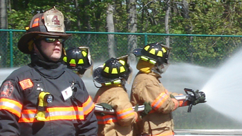 fire and hazmat training