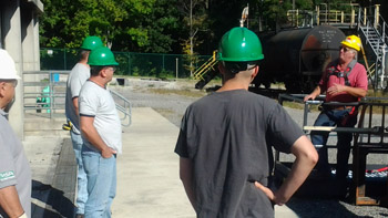 industrial safety training at BC3